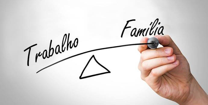Como ter uma vida equilibrada entre trabalho e familia