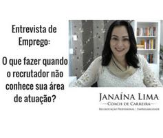 Entrevista de Emprego – O que fazer quando o recrutador não conhece sua área de atuação?