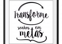 Transforme Sonhos em Metas
