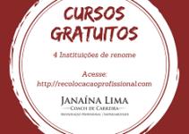 Cursos gratuitos para seu aperfeiçoamento profissional