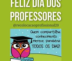 Vagas  para Professores – Feliz dia dos professores