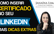Como inserir certificados no perfil do Linkedin