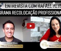 Caso de Sucesso – Entrevista com Alunos – Rafael Alves (Transição de carreira)