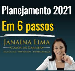 Planejamento 2021 em 6 passos